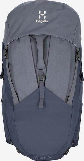 Haglöfs Sportrugzak 'Ängd 60 W M-L ' in de kleur Blauw / Grijs, Productweergave