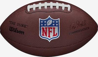 WILSON Ball in blau / braun / rot / weiß, Produktansicht