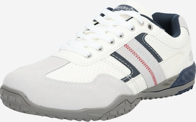 Dockers by Gerli Athletic lace-up shoe in beige / black / off white, Item view
