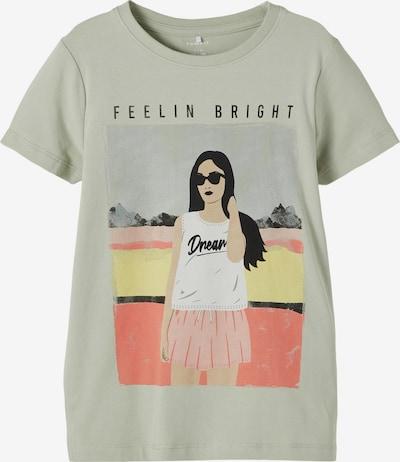 NAME IT Shirt 'Asigne' in pastellgrün / mischfarben, Produktansicht