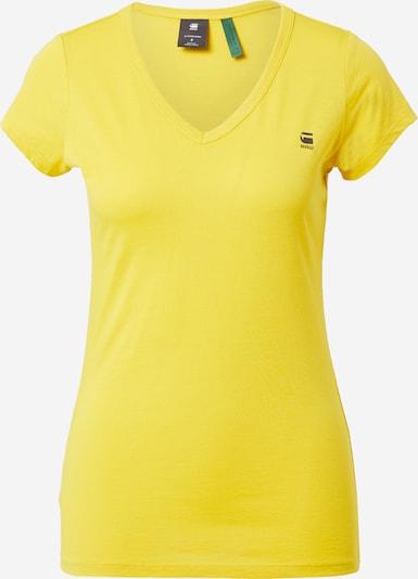 G-Star RAW Shirt 'Eyben' in de kleur Geel, Productweergave
