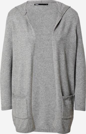 Only (Petite) Gebreid vest 'LESLY' in de kleur Grijs, Productweergave