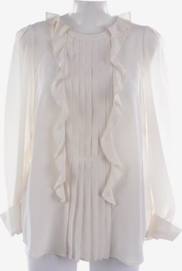 Maison Common Seidenbluse  in XL in weiß, Produktansicht