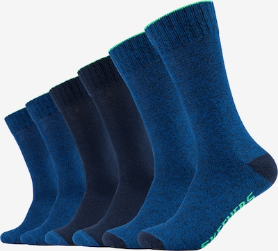 SKECHERS Socken Chicago im 6er-Pack in blau, Produktansicht
