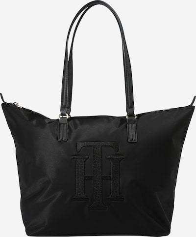 TOMMY HILFIGER Shopper 'Poppy' in de kleur Zwart, Productweergave