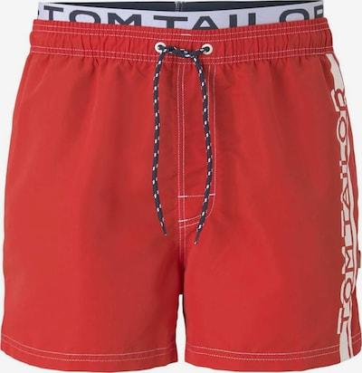 TOM TAILOR Zwembroek in de kleur Blauw / Rood / Wit, Productweergave