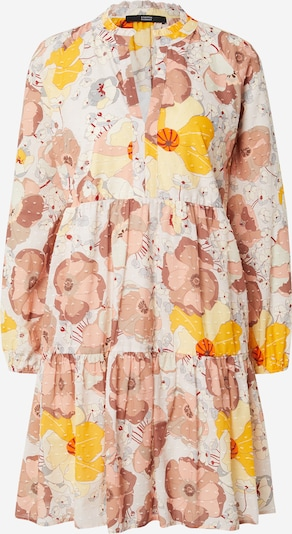 STEFFEN SCHRAUT Vasaras kleita 'Charlotte' dzeltens / pasteļdzeltens / pūderis / vecrozā / balts, Preces skats
