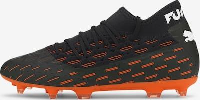 PUMA Chaussure de foot en orange fluo / noir, Vue avec produit