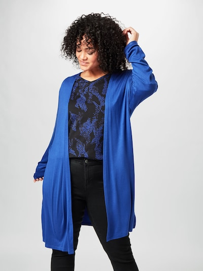 MY TRUE ME Cardigan in royalblau, Modelansicht