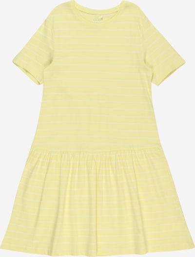NAME IT Kleid 'VAMAJA' in gelb / weiß, Produktansicht