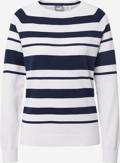 PUMA Sweatshirt in navy / weiß, Produktansicht