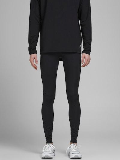 JACK & JONES Kalhoty - oranžová / černá / bílá, Model/ka