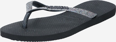 HAVAIANAS T-bar sandals in Black, Item view