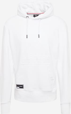 Sweat-shirt Superdry en blanc
