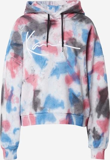 Felpa Karl Kani di colore beige sfumato / blu fumo / grigio scuro / colori misti / rosa, Visualizzazione prodotti