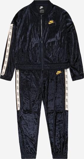 Trening Nike Sportswear pe navy / galben / alb, Vizualizare produs