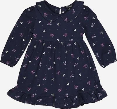 BLUE SEVEN Kleid in navy / lila / weiß, Produktansicht