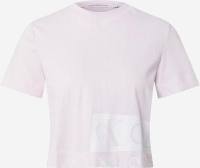Calvin Klein Jeans Majica u prljavo roza / bijela, Pregled proizvoda