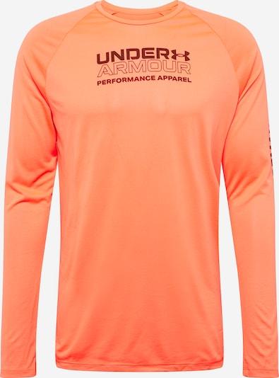 UNDER ARMOUR Funkční tričko - oranžově červená / černá, Produkt