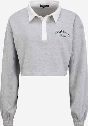 Missguided Tall Shirt in de kleur Grijs gemêleerd, Productweergave