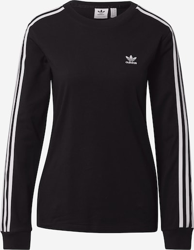 ADIDAS ORIGINALS Shirt in de kleur Zwart / Wit, Productweergave