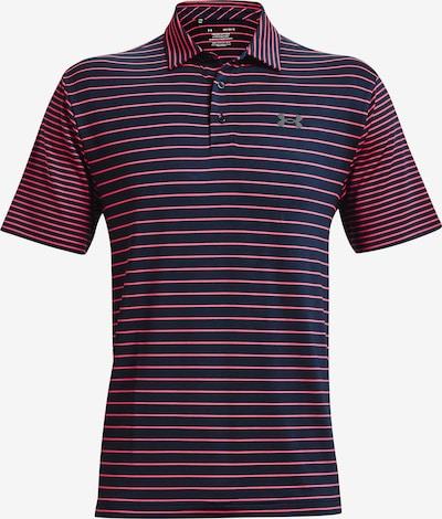UNDER ARMOUR Sportshirt 'Playoff' in dunkelblau / rot, Produktansicht
