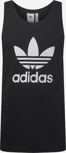 ADIDAS ORIGINALS Tričko 'TREFOIL' - čierna / biela, Produkt