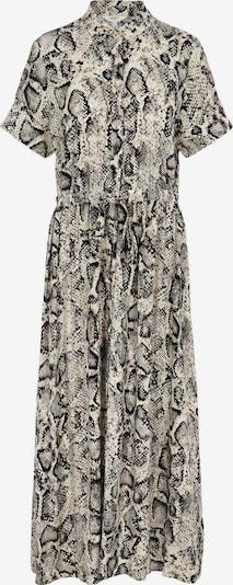 OBJECT Kleid 'Bay Nibia' in beige / creme / schwarz, Produktansicht