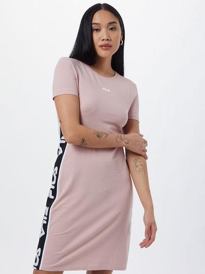 FILA Kleid 'TANIEL' in mauve / schwarz / weiß, Modelansicht