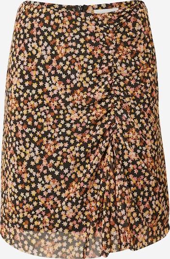 Fabienne Chapot Rok 'Jessy' in de kleur Bruin / Geel / Rosa / Oudroze / Zwart, Productweergave