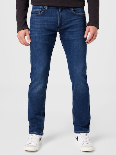 s.Oliver Jeans 'York' i blå denim: Sedd framifrån