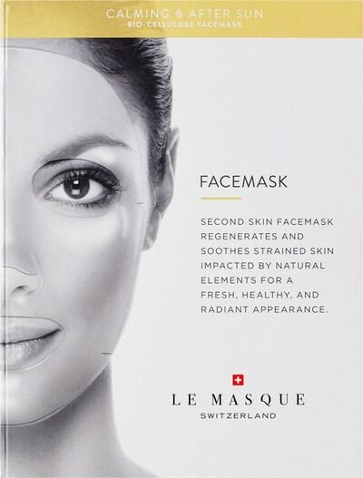 Le Masque Switzerland Maske 'Bio-Cellulose  Calming & After Sun' in transparent, Produktansicht