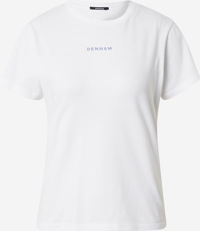 Tricou 'CAMELLIA' DENHAM pe alb, Vizualizare produs