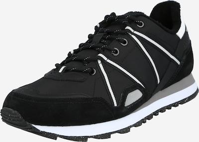 BOSS Casual Sneakers laag 'Parkour_Runn' in de kleur Zwart / Wit, Productweergave
