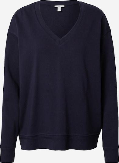 EDC BY ESPRIT Sweat-shirt en bleu marine, Vue avec produit