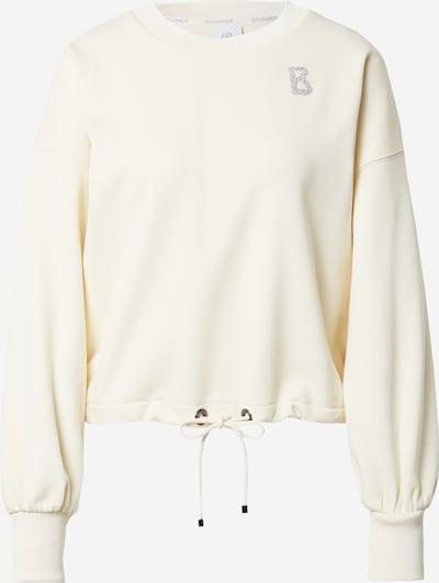 BOGNER Sweat-shirt 'Sana' en argent / blanc cassé, Vue avec produit