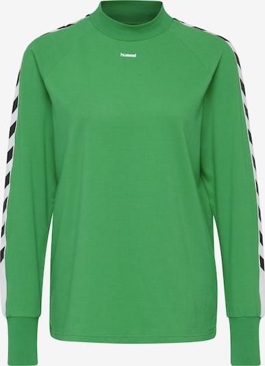 Hummel T-Shirt in grün / schwarz / weiß, Produktansicht