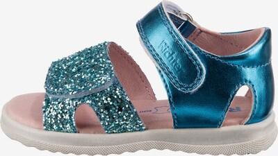 RICHTER Sandale in blau / pink, Produktansicht