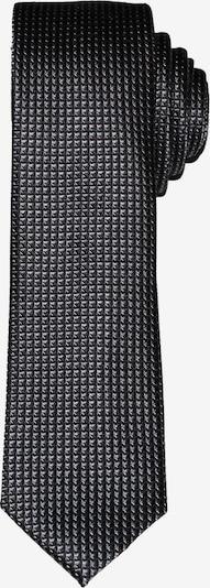 OLYMP Krawatte in schwarz / weiß, Produktansicht