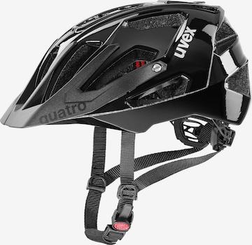 UVEX Fahrradhelm 'Quatro' in Schwarz