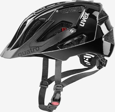 UVEX Fahrradhelm 'Quatro' in schwarz, Produktansicht