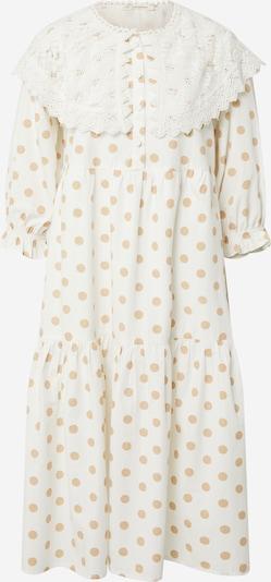 Love Copenhagen Kleid 'Dotta' in camel / naturweiß, Produktansicht