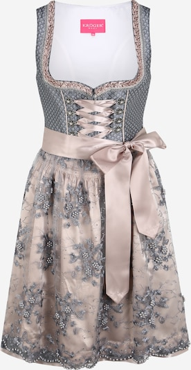 Krüger Madl Dirndl 'Nalani' in grey / pink, Item view