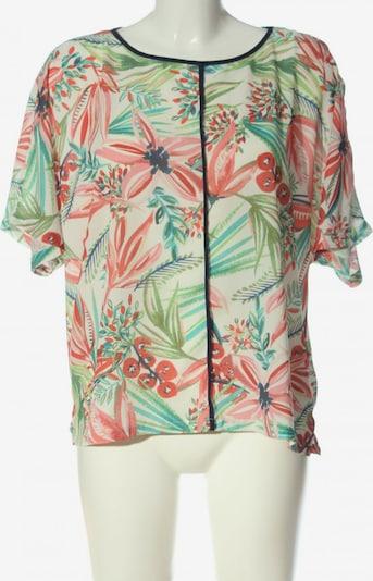 M&S Schlupf-Bluse in XL in türkis / grün / pink, Produktansicht