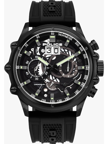 POLICE Analog Watch in Black