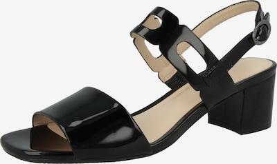 GERRY WEBER Sandale in schwarz, Produktansicht