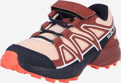 SALOMON Zapatos bajos 'SPEEDCROSS BUNGEE' en marino / rosa / rojo vino / blanco, Vista del producto