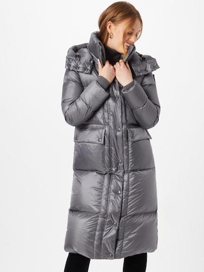 Blauer.USA Zimní kabát - stříbrně šedá, Model/ka