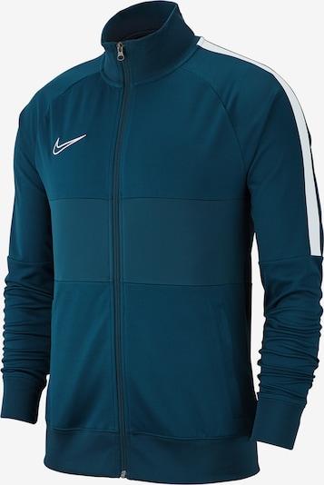 NIKE Jacke in dunkelblau / weiß, Produktansicht