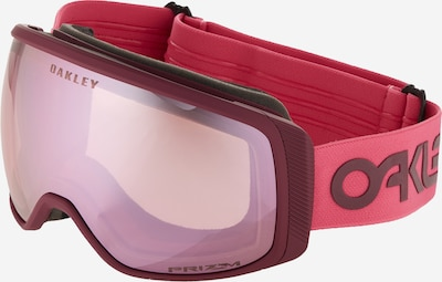 OAKLEY Sportbril 'Flight Tracker' in de kleur Bessen / Pink, Productweergave